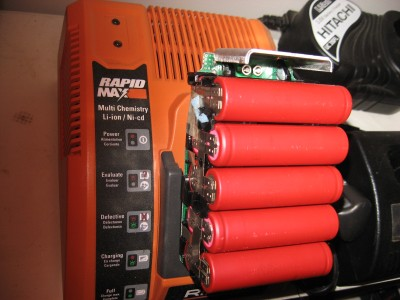 charging a lithium ion pack
