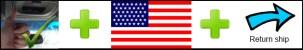 US repair and return shipping