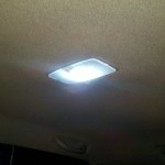 LED interior lamp module in Tacoma